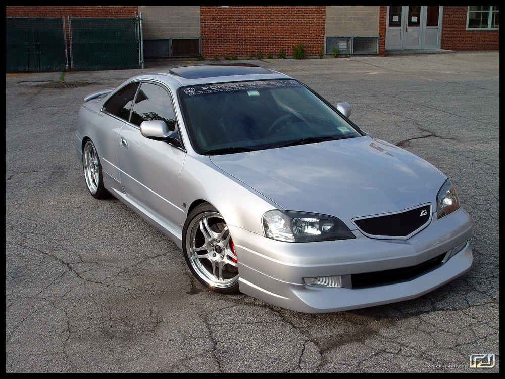 medium resolution of 2001 acura cl body kit