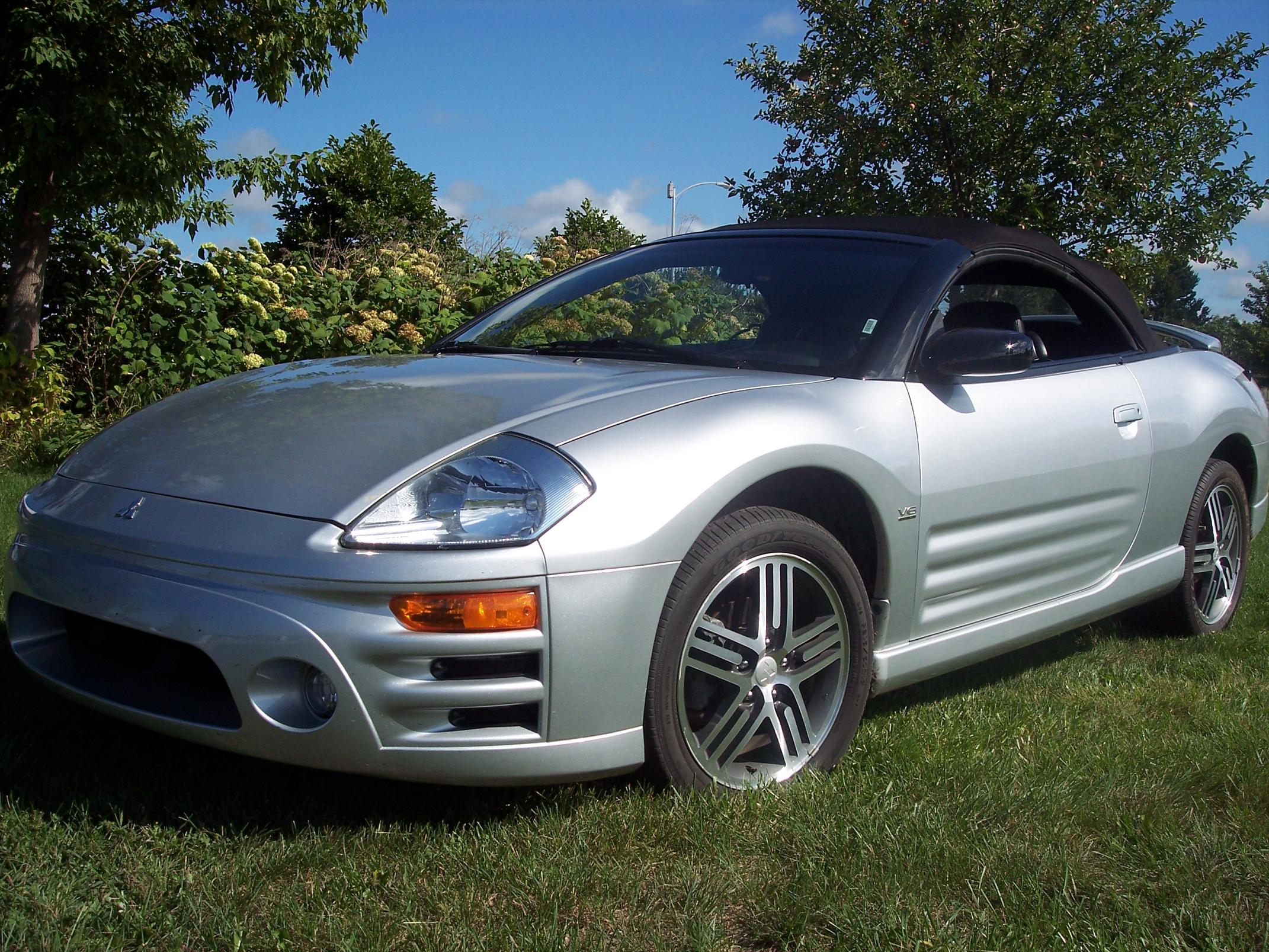 2003 Mitsubishi Eclipse Decal