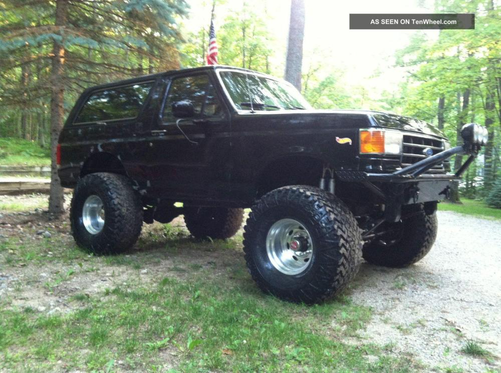 medium resolution of  1990 ford bronco information and photos zombiedrive ford bronco l wiring diagram on 1978