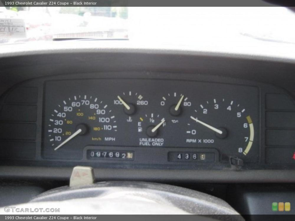 medium resolution of 1993 chevrolet cavalier 5