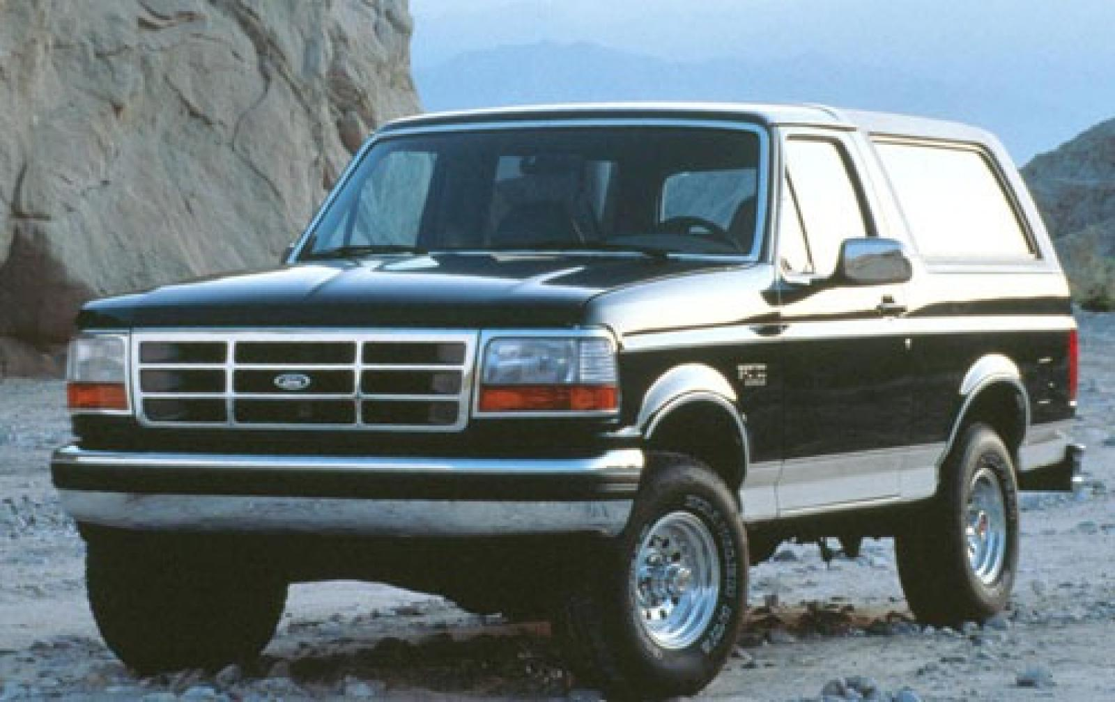 1993 Ford Bronco  Information and photos  Zomb Drive