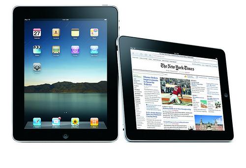 iPad image: Flickr user sucello