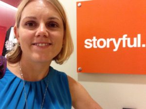 My first day at Storyful back in July of 2014