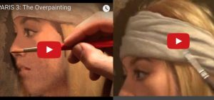 David gray oil painting, step by step portrait tutorial