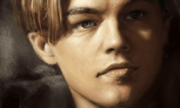 Leonardo DiCaprio Speed Painting Tutorial and walk through
