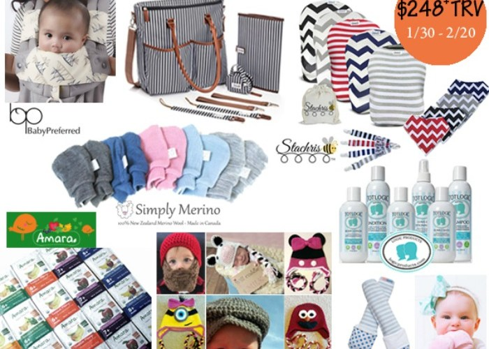 Baby Bonanza Giveaway Featuring A $250 Prize Package!