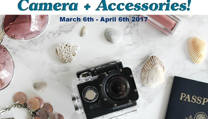 Waterproof HD Action Camera + Accessories Giveaway