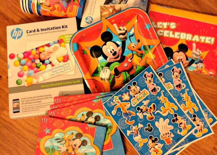 Let The Kids Help Plan A #DisneyKids Party And There Will Be Nothing But Smiles