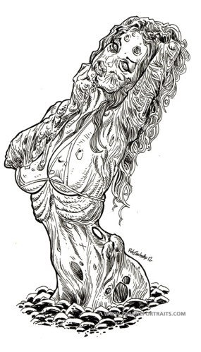 Zombie Pin Up Girl Rises