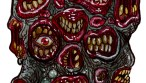 many mouth zombie mutant