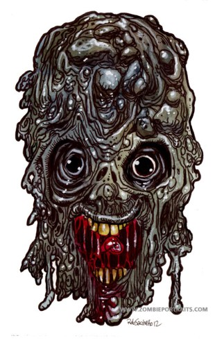 Deep Sea Zombie Artwork
