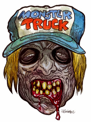 hotld monster truck zombie