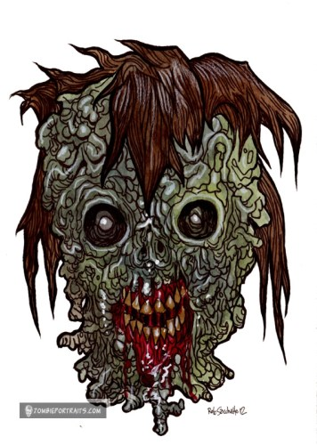hotld zombie some hair mostly rot
