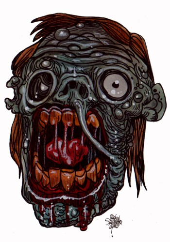 Zombie Art : Vocal Rotter