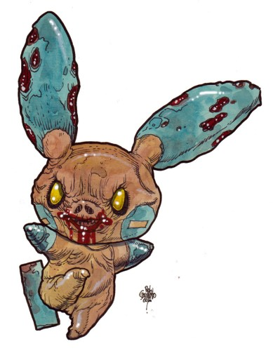 Zombie Art : Minum Pokemon Zombie Art by Rob Sacchetto