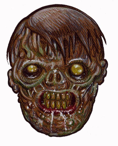 Zombie Art : Ex Humed Zombie Art by Rob Sacchetto