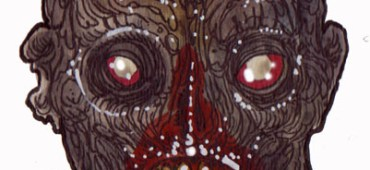 Zombie Art : Shriek Head