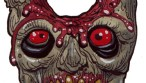 Zombie Art : Holey Head Zombie Art by Rob Sacchetto
