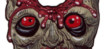 Zombie Art : Holey Head