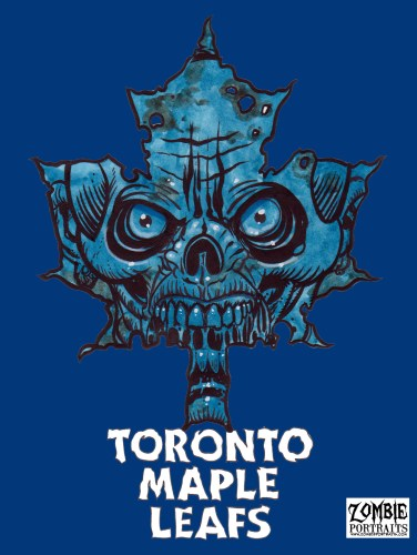 Zombie Art : Go Leafs Go! Zombie Art by Rob Sacchetto