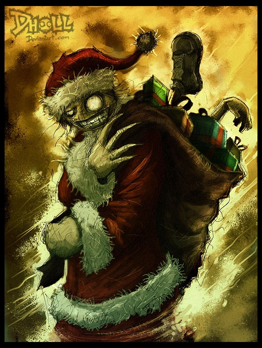 SANTA CLAWS IS COMING By Dholl Zombie Research Society