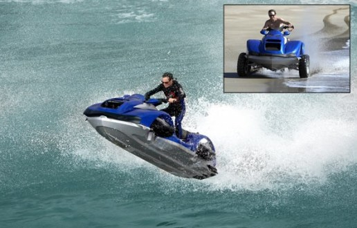 FOUR WHEELER FOR LAND & SEA