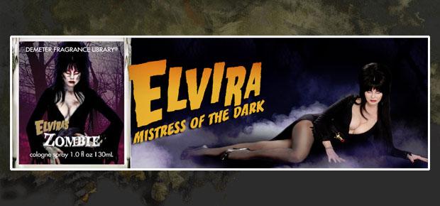 ELVIRA WANTS YOU TO SMELL LIKE A ZOMBIE