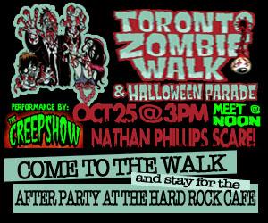 Toronto Zombie Walk Small Advertisment