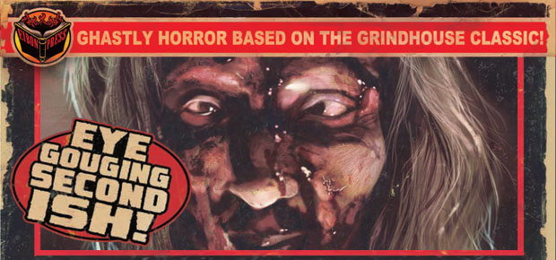 ZOMBIE #2 FROM EIBON PRESS ON SALE TODAY!