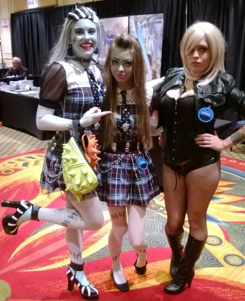 GMX cosplayers 1