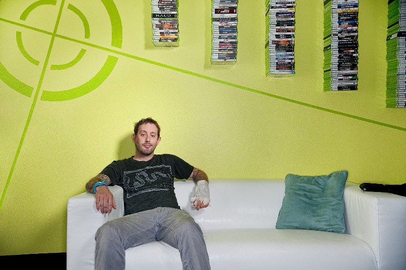 rooster teeth interview geoff ramsey zombies in my blog