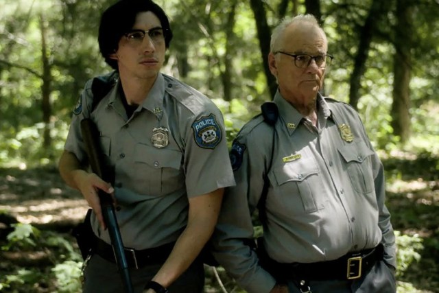 Adam Driver and Bill Murray in The Dead Don't Die