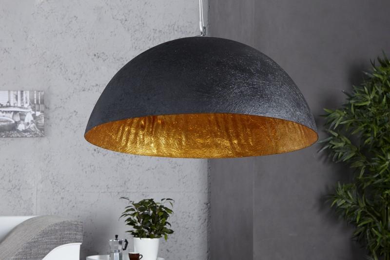 Lampa wiszca czarno zota Glow 50 cm KARE DESIGN