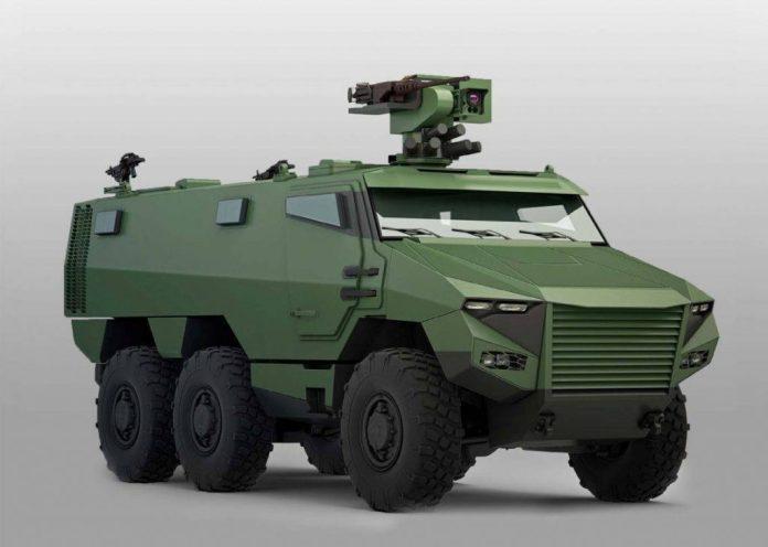 VBMR Griffon. Imagen: Ministère de la Défense/Armée de Terre.