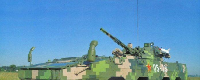 Detalle del armamento disponible en el ZBL-09.