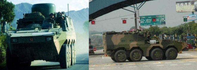 Versiones de Comunicaciones Satelitales y Puesto de Comando.