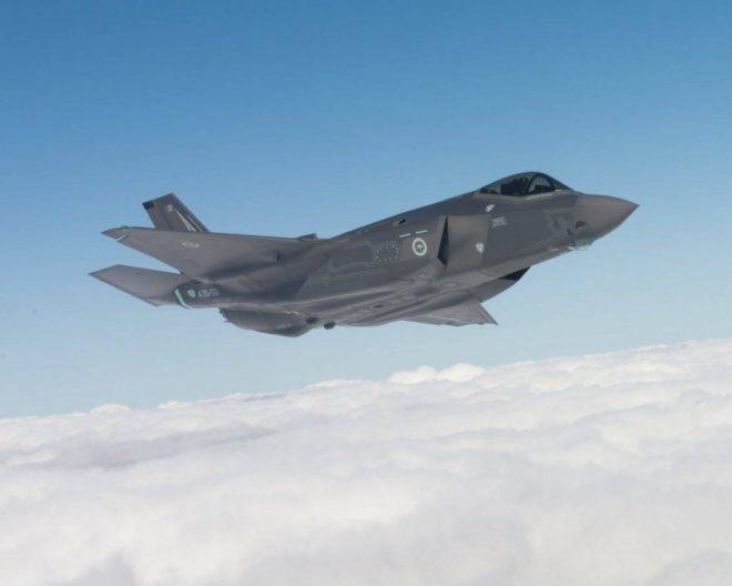 La RAAF planea reemplzar a sus F/A-18A/B Hornet con el F-35 Lightning II. Sumados a otros medios ya disponibles y por incorporarse, la RAAF contará con importantes capacidades. Imagen: Lockheed Martin - Liz Kaszynski