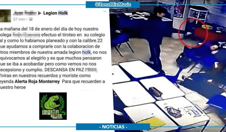 Grupo colectivo de Facebook se adjudica la masacre ocurrida en Monterrey