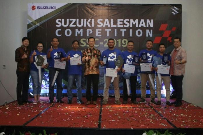 Pemenang Suzuki Salesman Competition