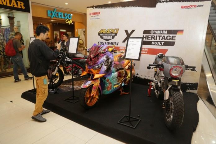 Customaxi x Yamaha Heritage Built