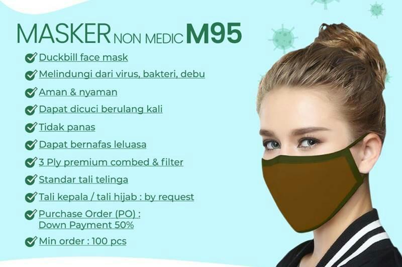 MAKKO Group Produksi Masker