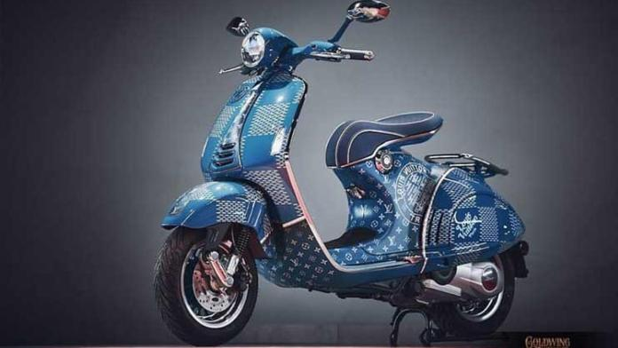 Vespa 946 Louis Vuitton 1