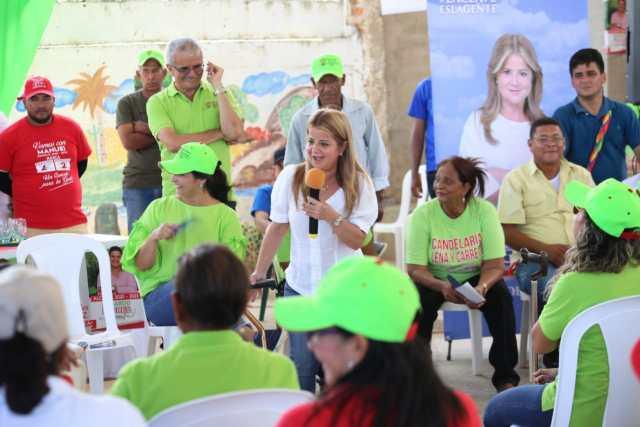 La candidata a la Gobernación del Atlántico, Elsa Noguera.