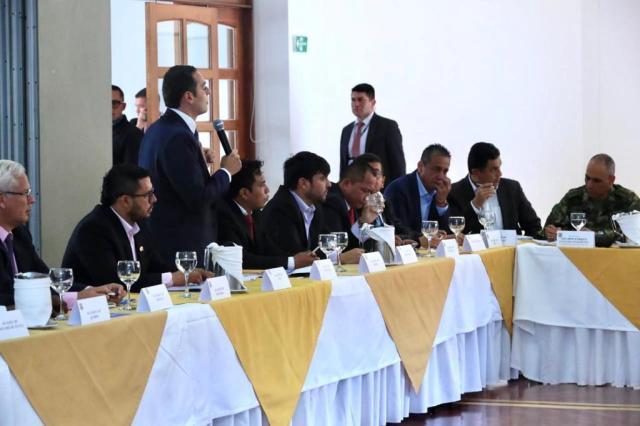 El Alcalde de Barranquilla, Jaime Pumarejo, en Asocapitales.