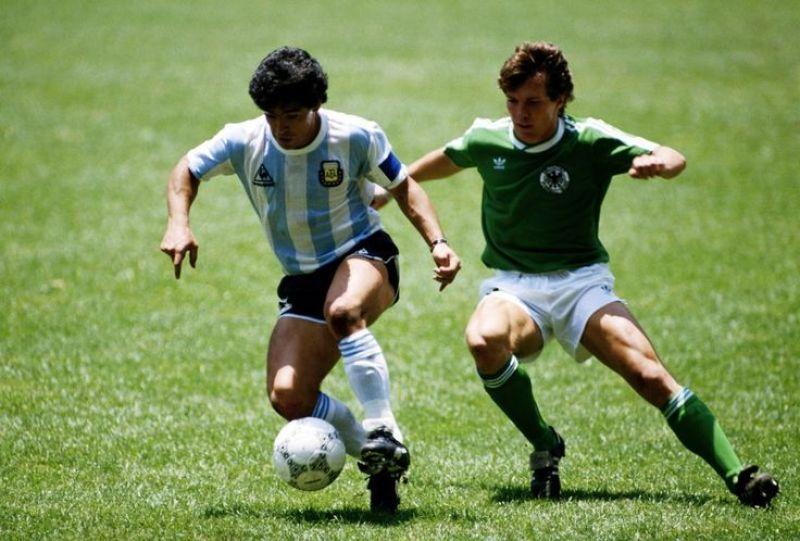 Mexico 1986 Maradona Matthaus