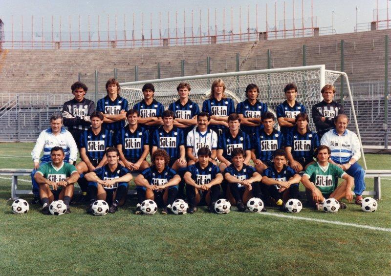 La rosa dell'Atalanta 1987/1988