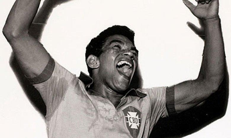 Garrincha esulta, il Brasile è campione