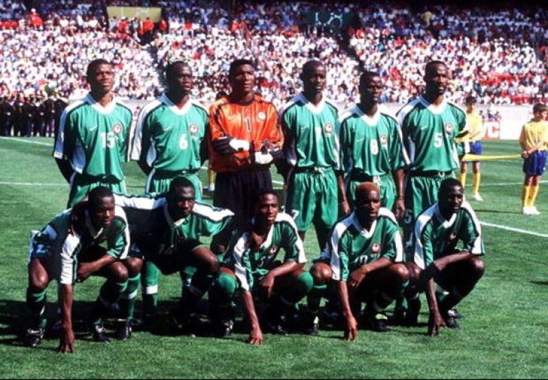La Nigeria a Francia '98