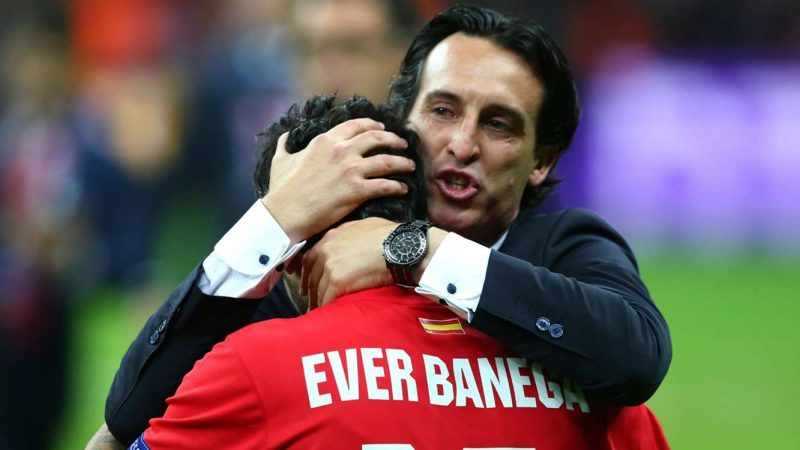 ever-banega-unai-emery