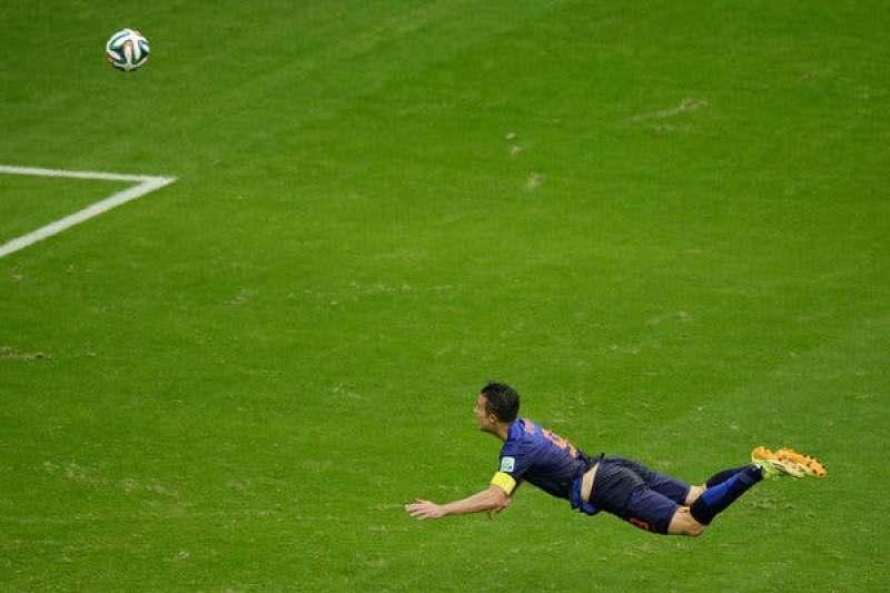 Van Persie gol Spain